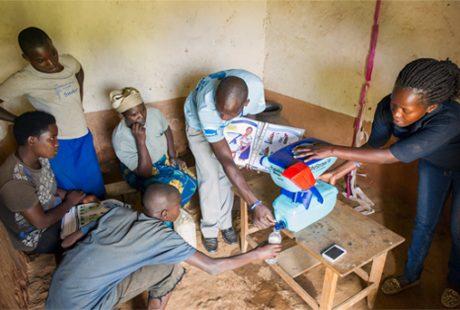 DelAgua Rwanda project, October 2014