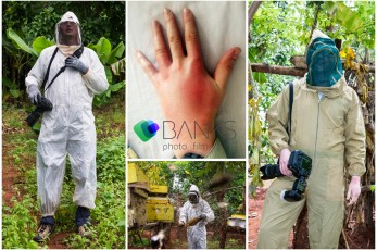 The Big Bee Hive Challenge, and Sesame seed production around Babati in Tanzania, 1 June - 6 June 2015