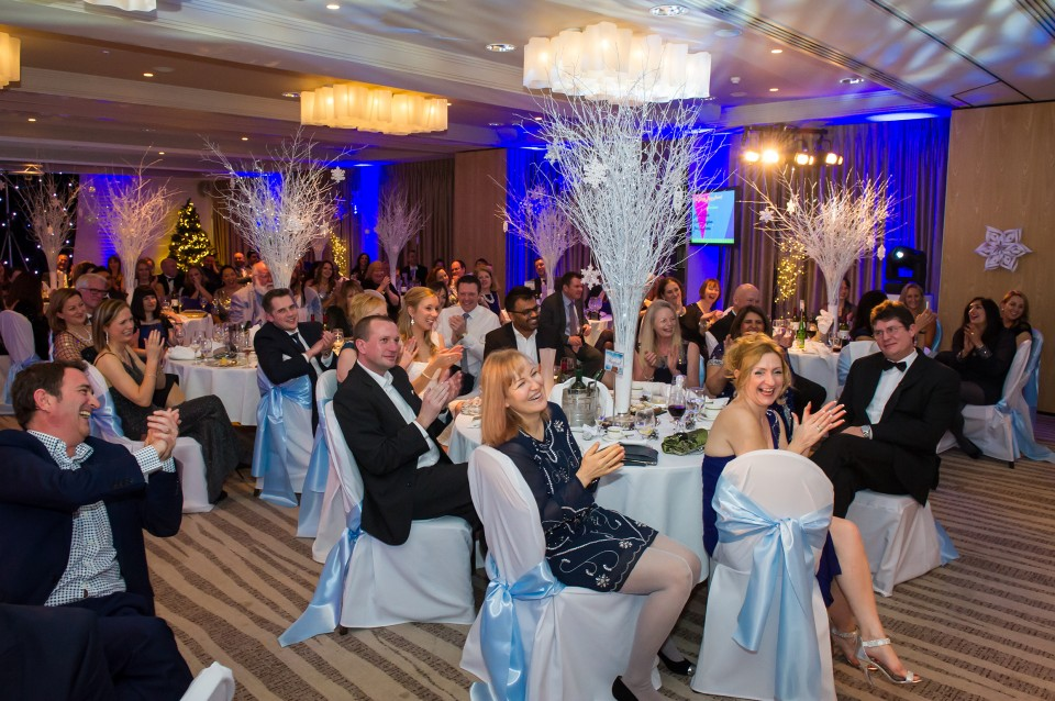 Genzyme Awards 2015 at the Runnymede-On-Thames Hotel and Spa, Egham. 17 December 2015