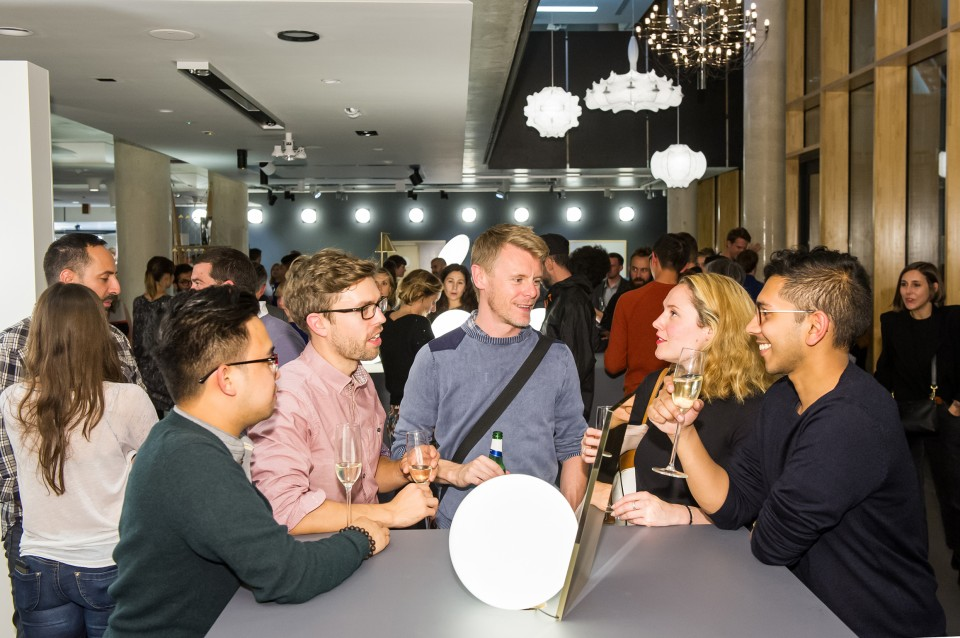 FLOS new range launch event for the London Design Festival at Atrium Studios, 28 Leonard Street • London • EC2A 4BY, 22 September 2015