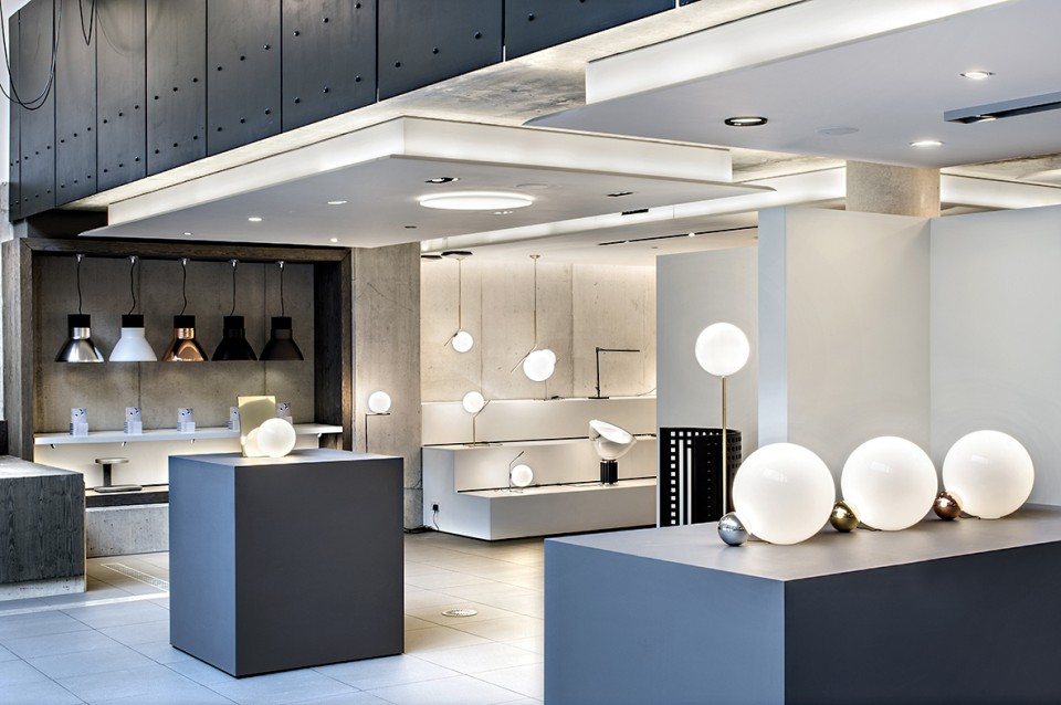 FLOS new range launch for the London Design Festival at Atrium Studios, 28 Leonard Street • London • EC2A 4BY, 22 September 2015